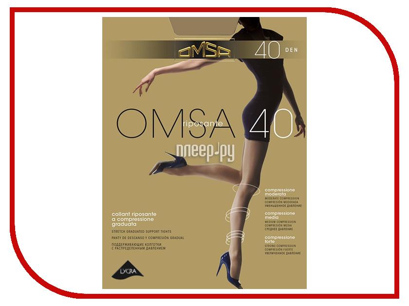Колготки OMSA размер 3 плотность 40 Den Caramello