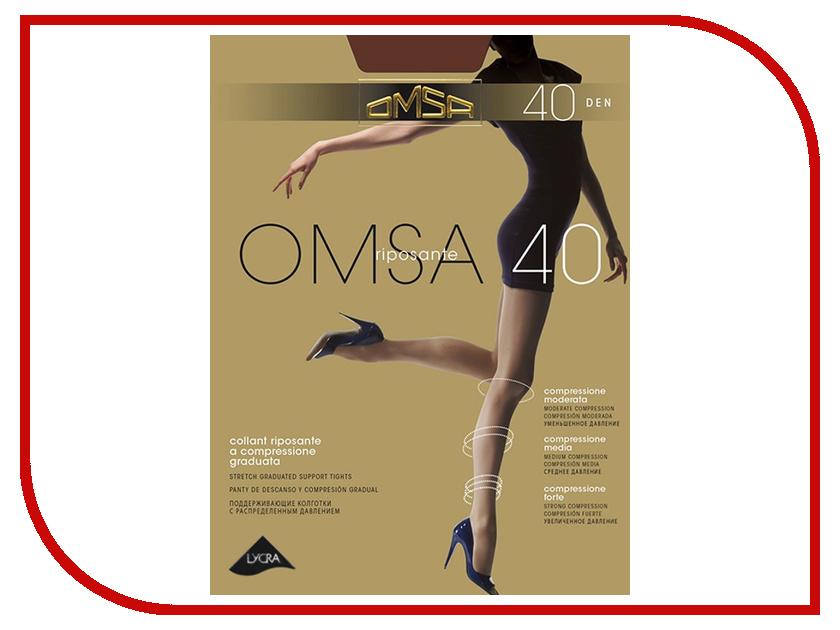 Колготки OMSA размер 2 плотность 40 Den Daino incanto колготки cosmo 40 daino 2