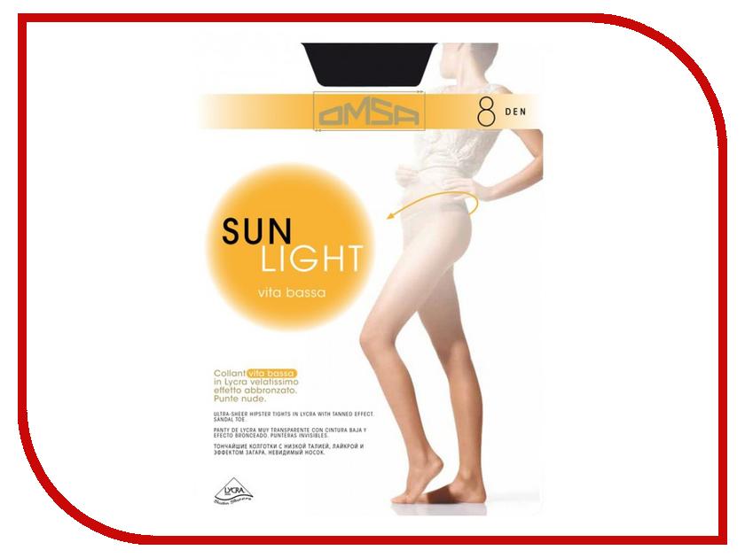купить Колготки OMSA Sun Light размер 4 плотность 8 Den V.B. Nero по цене 195 рублей