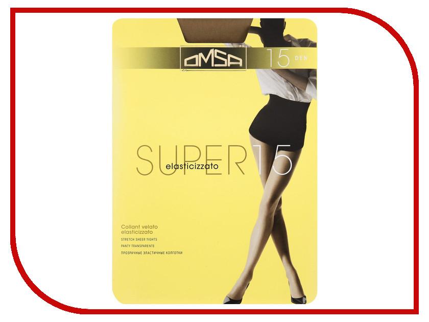 Колготки OMSA Super размер 3 плотность 15 Den Daino