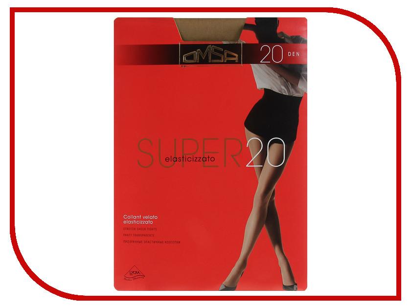 Колготки OMSA Super размер 2 плотность 20 Den Daino юбка blugirl folies by blumarine юбки с завышенной талией