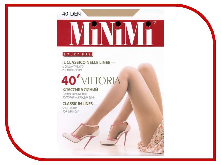 Колготки MiNiMi Vittoria размер 4 плотность 40 Den Caramello