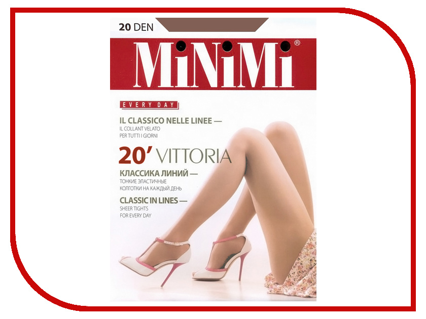Колготки MiNiMi Vittoria размер 4 плотность 20 Den Daino колготки minimi elegante размер 4 плотность 20 den daino