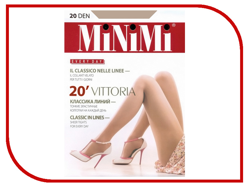 Колготки MiNiMi Vittoria размер 5 плотность 20 Den Caramello