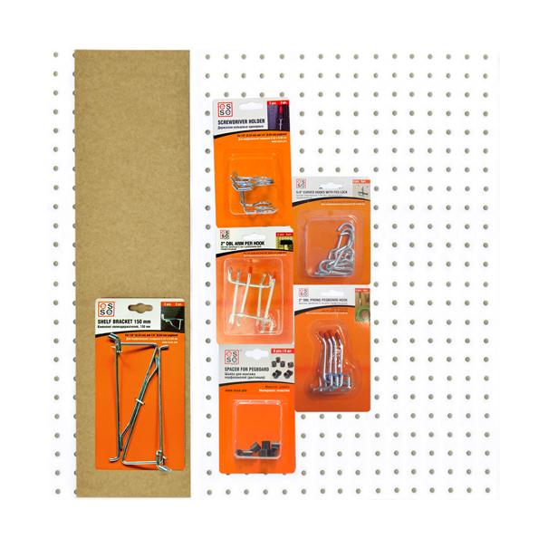 Набор для хранения инструмента ESSE PB-K01 набор крепежа esse с металлическими перфопанелями 26 предметов