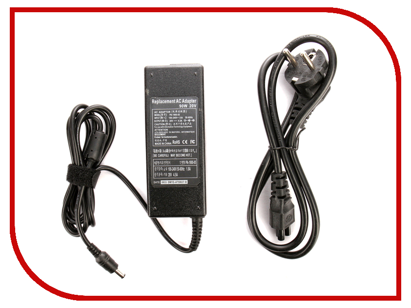 Блок питания 4parts LAC-LE03 Lenovo 20V 4.5A (5.5x2.5mm) 90W блок питания 4parts lac hp07 hp 19v 4 74a 7 4x5 0mm с иглой 90w