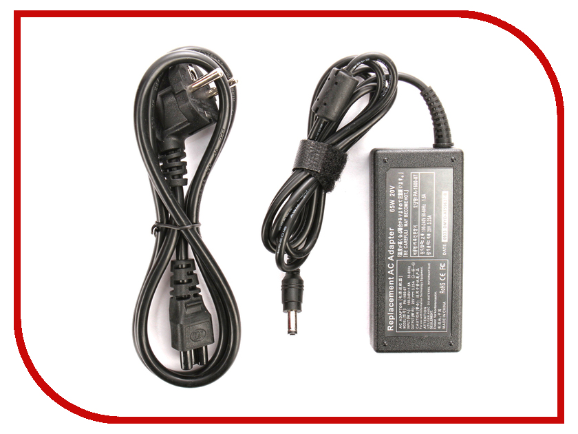 Блок питания 4parts LAC-LE02 Lenovo 20V 3.25A (5.5x2.5mm) 65W блок питания 4parts lac hp07 hp 19v 4 74a 7 4x5 0mm с иглой 90w