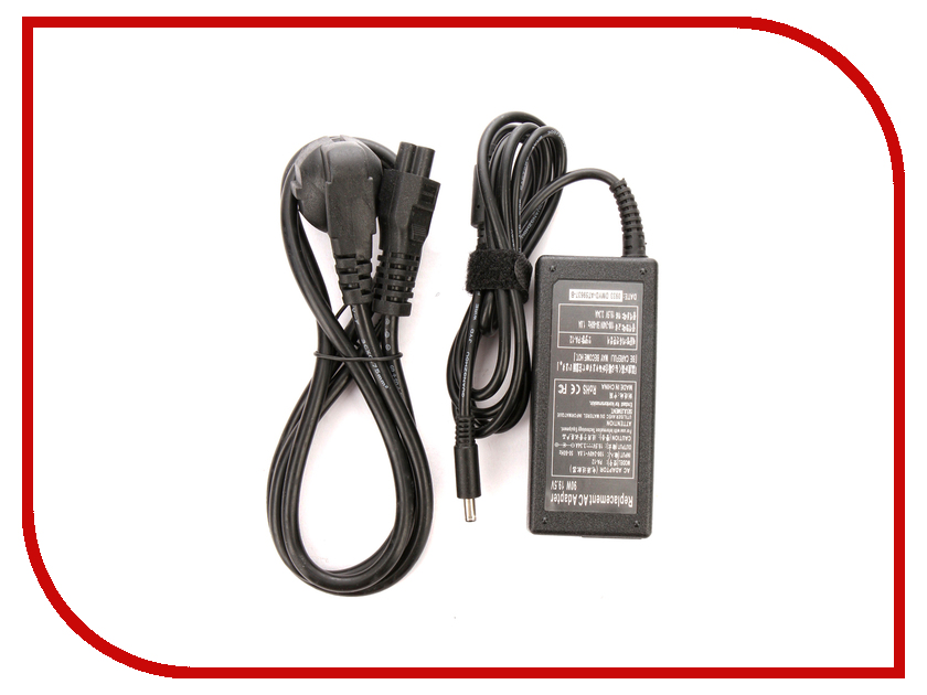 Блок питания 4parts LAC-DE04 DELL 19.5V 3.34A (4.5x3.0mm с иглой) 65W блок питания 4parts lac hp07 hp 19v 4 74a 7 4x5 0mm с иглой 90w