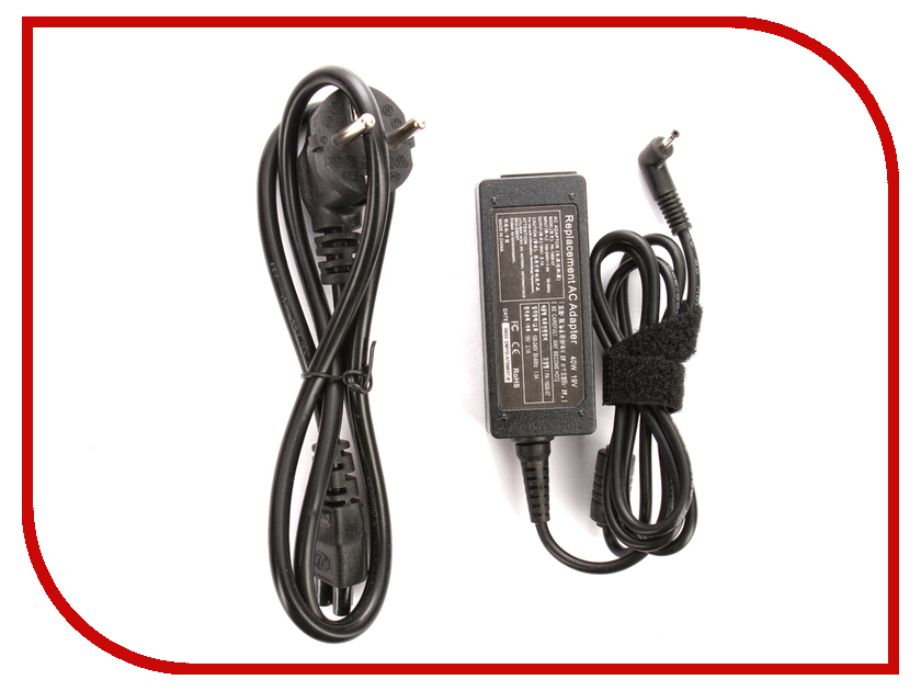Блок питания 4parts LAC-SA02 Samsung 19V 2.1A (3.0x0.8mm) 40W блок питания 4parts lac hp07 hp 19v 4 74a 7 4x5 0mm с иглой 90w