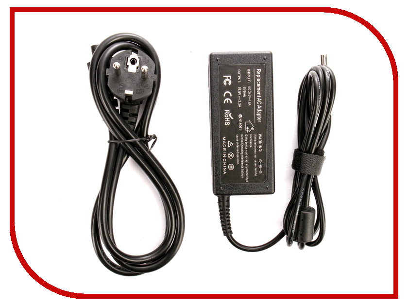 Блок питания 4parts LAC-SO04 Sony 19.5V 3.3A (6.0x4.4mm с иглой) 65W блок питания 4parts lac hp07 hp 19v 4 74a 7 4x5 0mm с иглой 90w