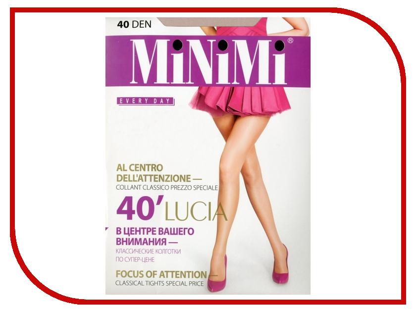 Колготки MiNiMi Lucia размер 4 плотность 40 Den Caramello