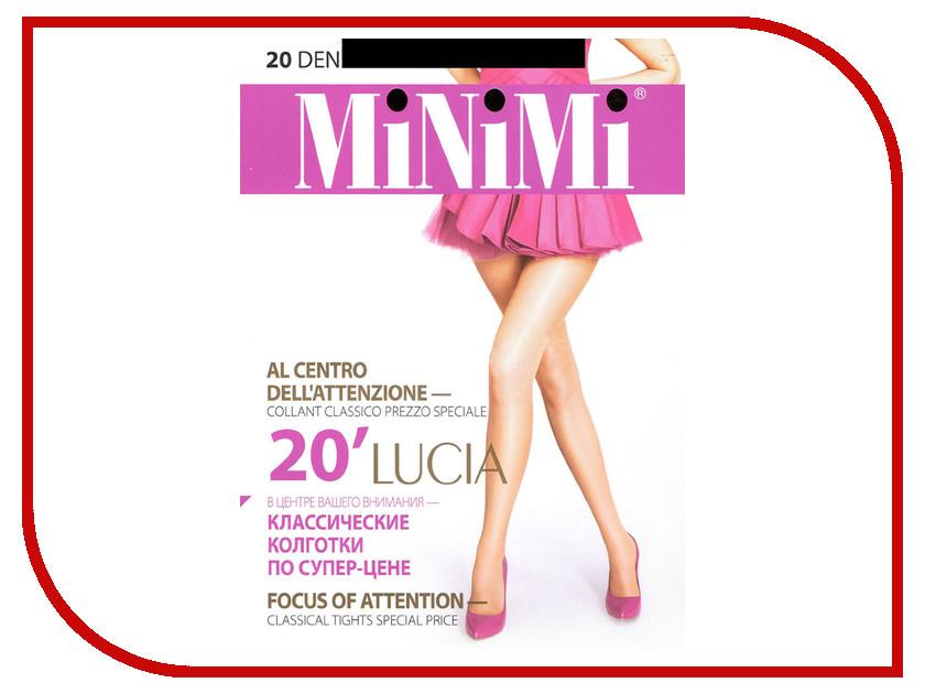Колготки MiNiMi Lucia размер 3 плотность 20 Den Nero