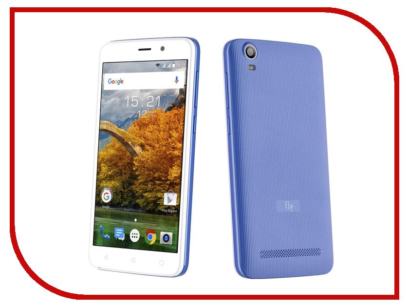 Сотовый телефон Fly FS509 Nimbus 9 Lavender Blue смартфон fly nimbus 10 fs512 черный