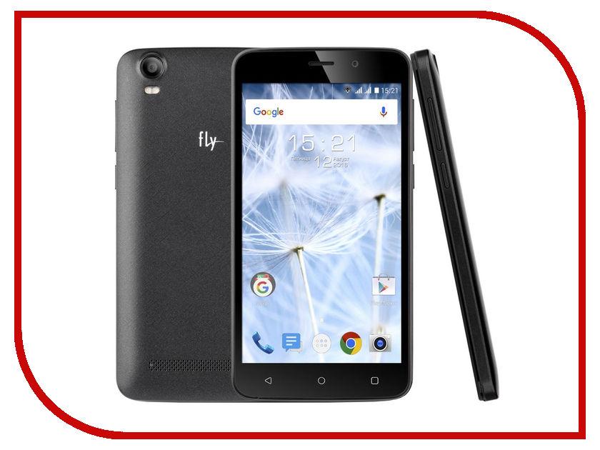 Сотовый телефон Fly FS508 Cirrus 6 Black мобильный телефон fly ff178 32mb black