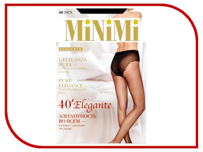 Колготки MiNiMi Elegante размер 3 плотность 40 Den Nero
