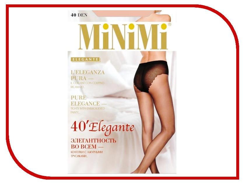 Колготки MiNiMi Elegante размер 4 плотность 40 Den Caramello колготки minimi elegante размер 4 плотность 20 den daino