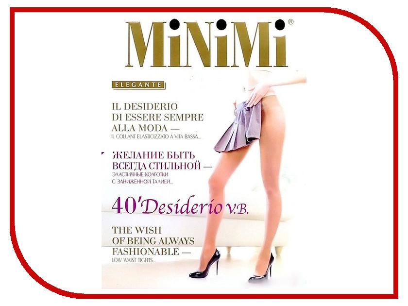 Колготки MiNiMi Desiderio размер 4 плотность 40 Den V.B. Nero