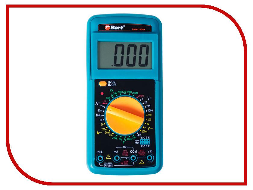 Тестер напряжения Bort BMM-1000N тестер напряжения meet ms 48m