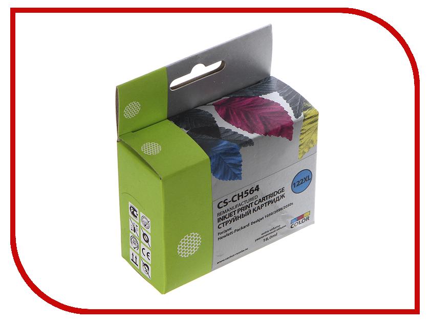 Cactus Картридж Cactus CS-CH564 №122XL Mylticolor для HP DJ 1050/2050/2050s
