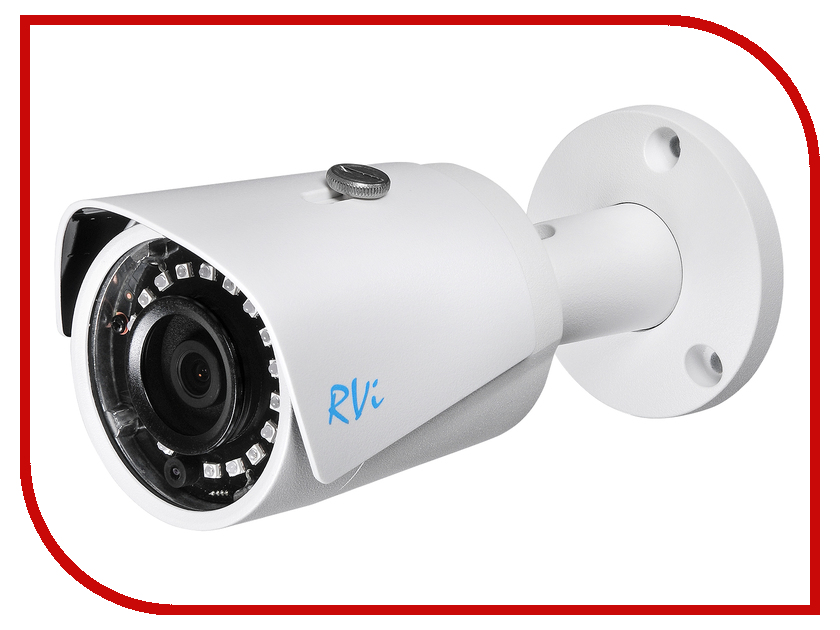 IP камера RVi RVi-IPC43S V.2 2.8mm монитор rvi m19p