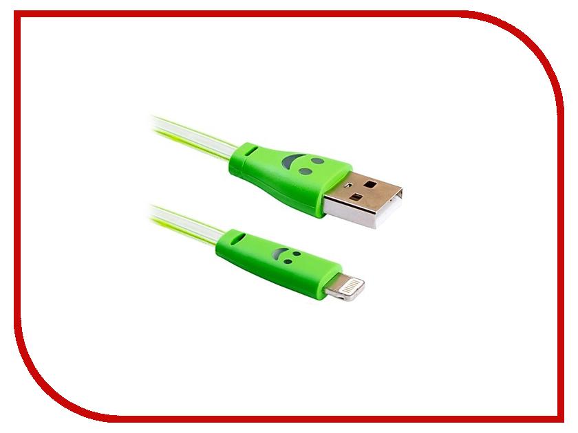 Аксессуар Blast USB - Lightning 8pin BMC-512 Зеленый