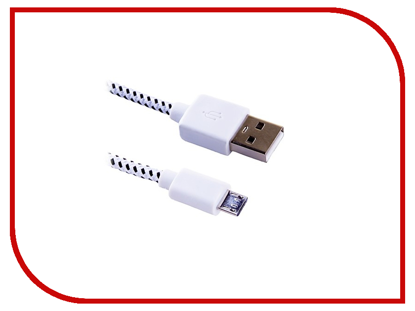 Аксессуар Blast USB - Micro USB BMC-112 White