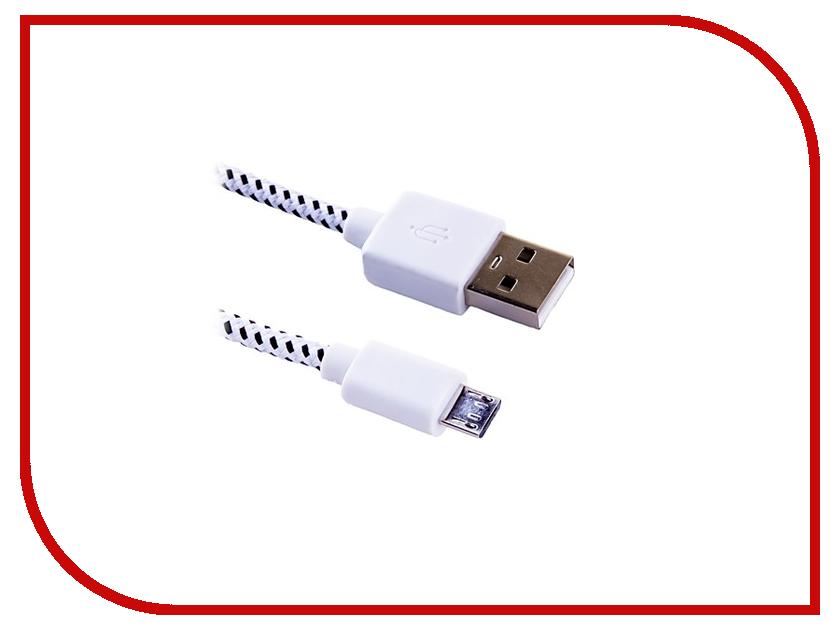 Аксессуар Blast USB - Micro USB BMC-122 White