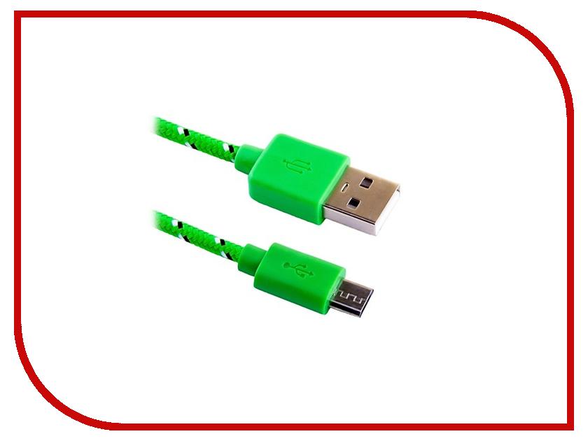 Аксессуар Blast USB - Micro USB BMC-122 Green