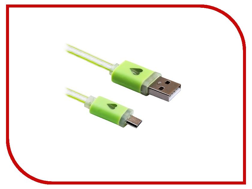 Аксессуар Blast USB - Micro USB BMC-510 Green