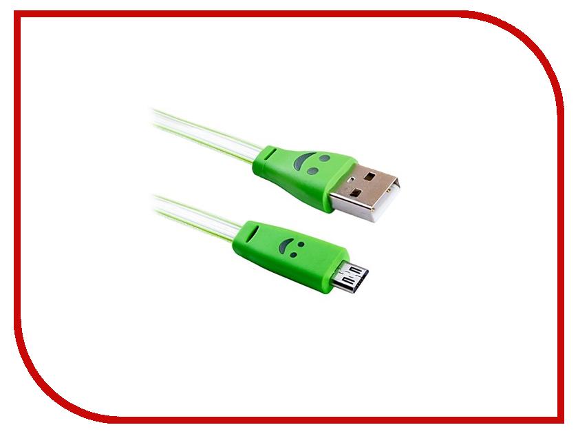 Аксессуар Blast USB - Micro USB BMC-511 Green