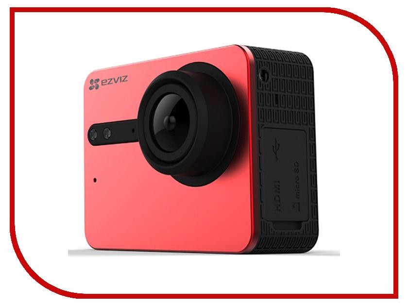 Экшн-камера Ezviz S5 Red CS-S5-212WFBS-r