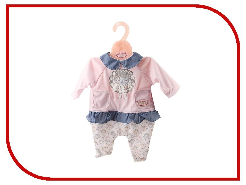 Игра Zapf Creation Baby Annabell Одежда для прогулки 700-105 zapf creation нижнее белье белый baby annabell