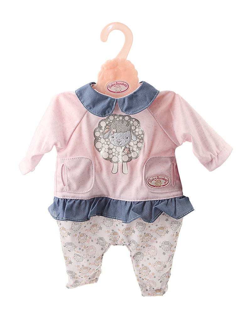 Одежда для куклы Одежда для куклы Zapf Creation Baby Annabell Для прогулки 700-105 zapf creation одежда для куклы my first baby annabell zapf creation розового цвета 36 см