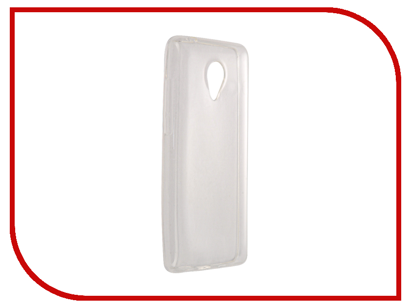 Аксессуар Чехол-накладка Phillips S386 SkinBox Slim Silicone Transparent T-S-PS386-006