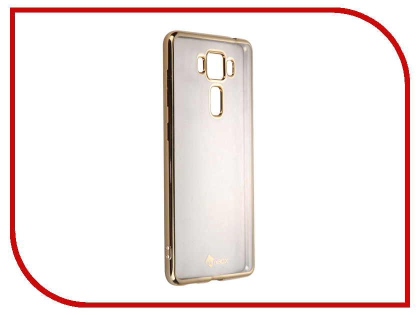 Аксессуар Чехол-накладка ASUS Zenfone 3 Delux ZS550KL SkinBox Silicone Chrome Border 4People Gold T-S-AZS550KL-008 чехол для asus zenfone go zb500kg skinbox 4people silicone chrome border case темно серебристый