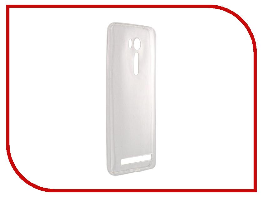 Аксессуар Чехол-накладка ASUS ZenFone Go ZB552KL SkinBox Slim Silicone 4People Transparent T-S-AZB552KL-005 skinbox для asus zenfone go zc451tg