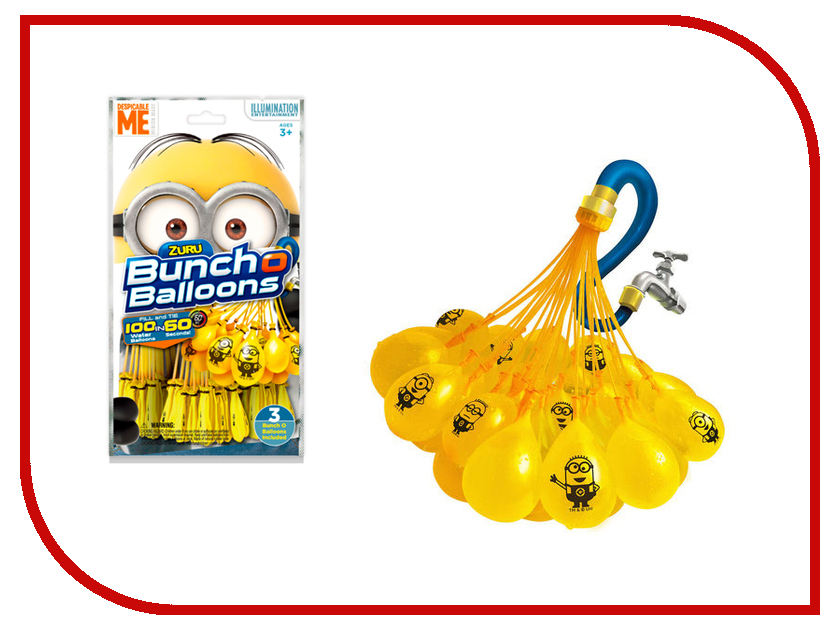 Игра спортивная Zuru Bunch O Balloons Стартовый набор Миньоны Z5653