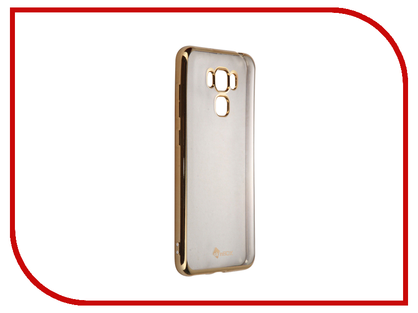 Аксессуар Чехол-накладка ASUS Zenfone 3 Max ZC553KL SkinBox Silicone Chrome Border 4People Gold T-S-AZC553KL-008 expansion module elc md204l text panel