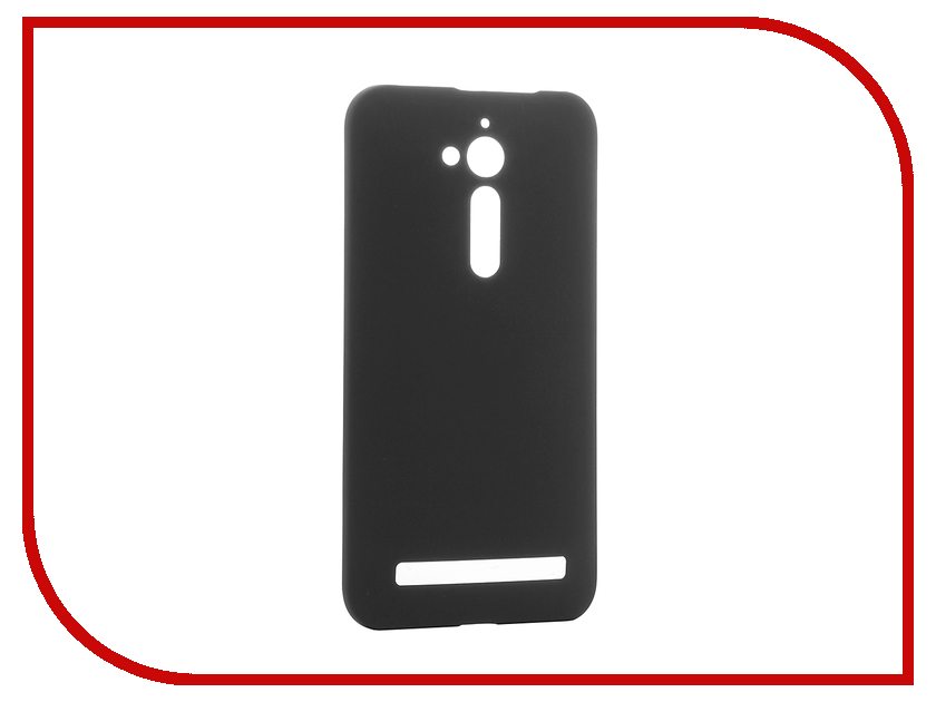 Аксессуар Чехол-накладка ASUS ZenFone Go ZB500KL SkinBox 4People Black T-S-AZZB500KL-002 телефон asus zenfone go zb500kl 16gb черный