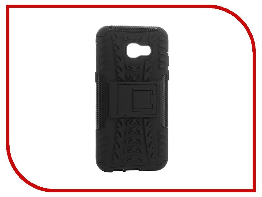 Аксессуар Чехол-накладка Samsung Galaxy A5 (2017) SkinBox Defender Case Black T-S-SGA52017-06