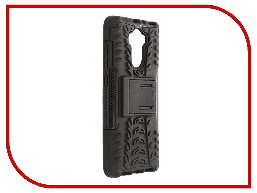 Аксессуар Чехол-накладка Xiaomi RedMi 4 SkinBox Defender Case Black T-S-XR4-06 skinbox defender case чехол накладка для leeco le 2 pro black