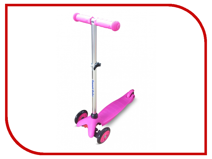 Самокат Sweet Baby Bright Up Pink 378463