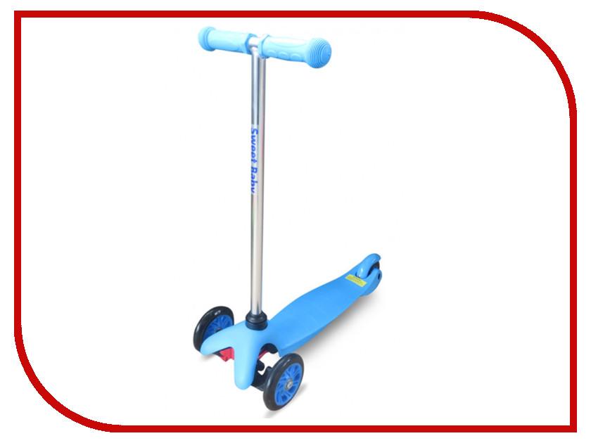 Самокат Sweet Baby Bright Blue 314065 прогулочная коляска sweet baby combina tutto сetriolo sweet baby