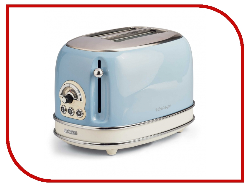 Тостер Ariete Vintage 155/15 Light Blue тостер ariete 186 party time red