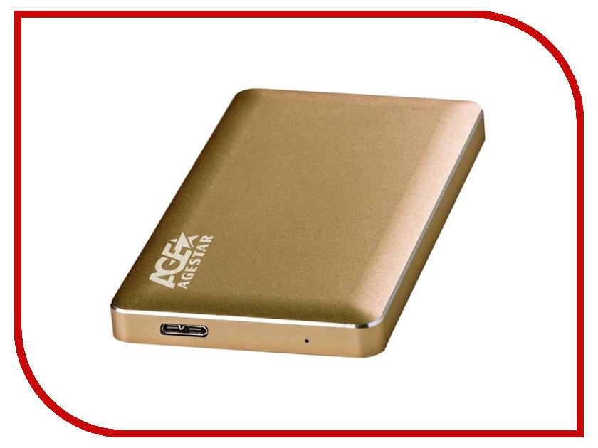 все цены на Аксессуар Внешний корпус для HDD AgeStar 3UB2A16 Aluminium Gold онлайн