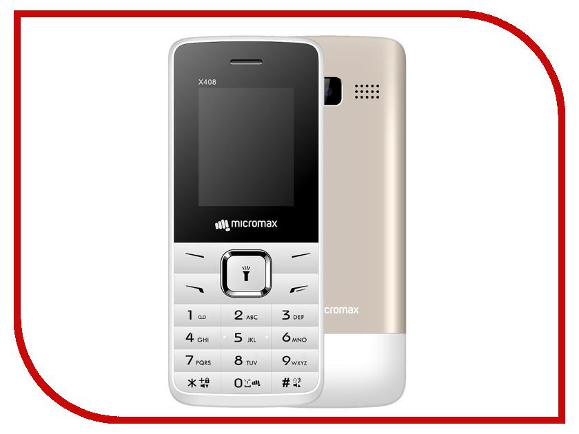 Сотовый телефон Micromax X408 White