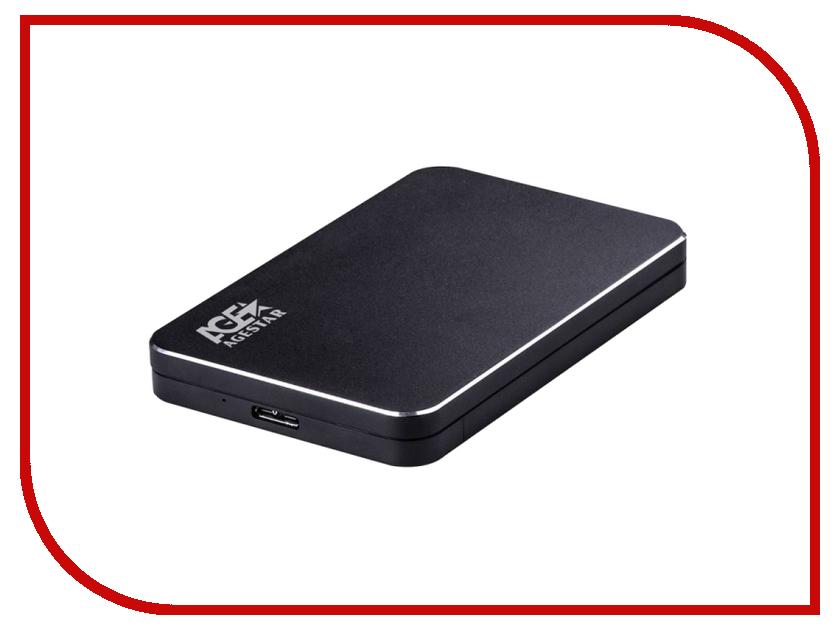 Аксессуар Внешний корпус для HDD AgeStar 3UB2A18 Aluminium Black тарелка закусочная флора без инд упаковки