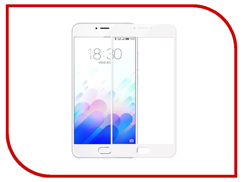 Аксессуар Защитное стекло Meizu U10 Zibelino TG Full Screen 0.33mm 2.5D White ZTG-FS-MEI-U10-WHT аксессуар защитное стекло huawei nova lite 2017 zibelino tg full screen 0 33mm 2 5d white ztg fs hua nov lit wht