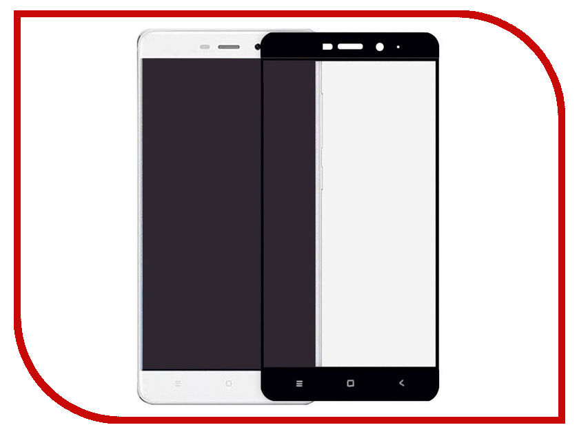 Аксессуар Защитное стекло для Xiaomi Redmi 4A Zibelino Full Screen 0.33mm 2.5D Black ZTG-FS-XMI-RDM-4A-BLK аксессуар защитное стекло xiaomi redmi 4a monsterskin 2d colorful black