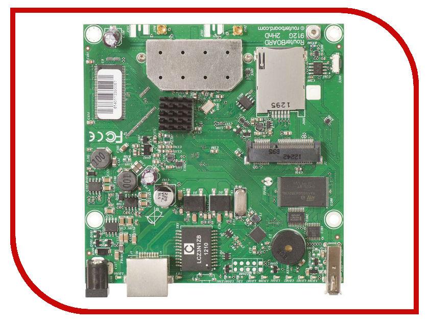Wi-Fi роутер MikroTik RB912UAG-2HPnD wi fi роутер